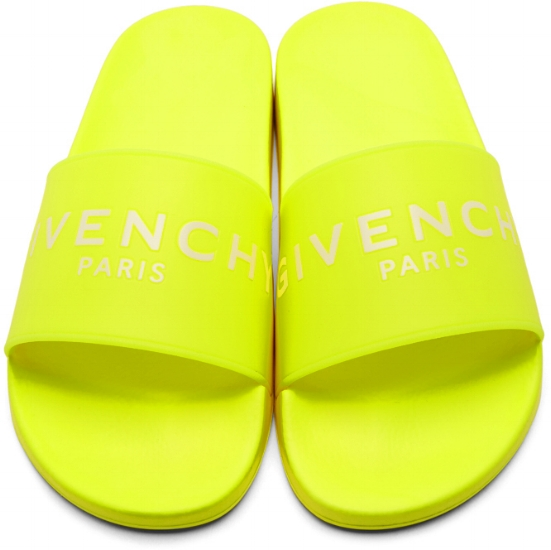 Givenchy Logo Pool Slides ($218), by Givenchy