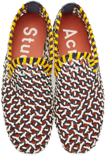 Multicolor Gamaal Loafers ($627), by Acne Studios
