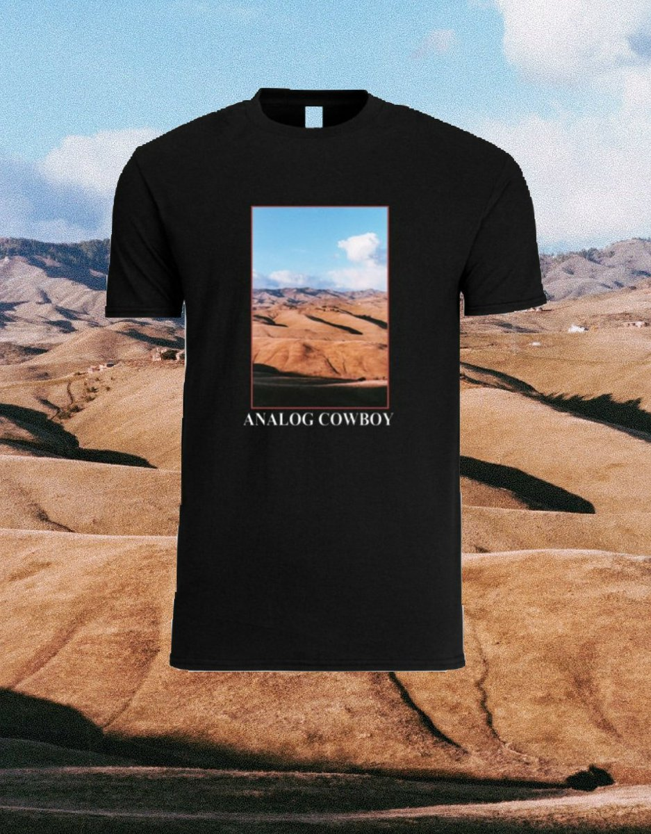 Analog Cowboy Tee Shirt/Summer 2018