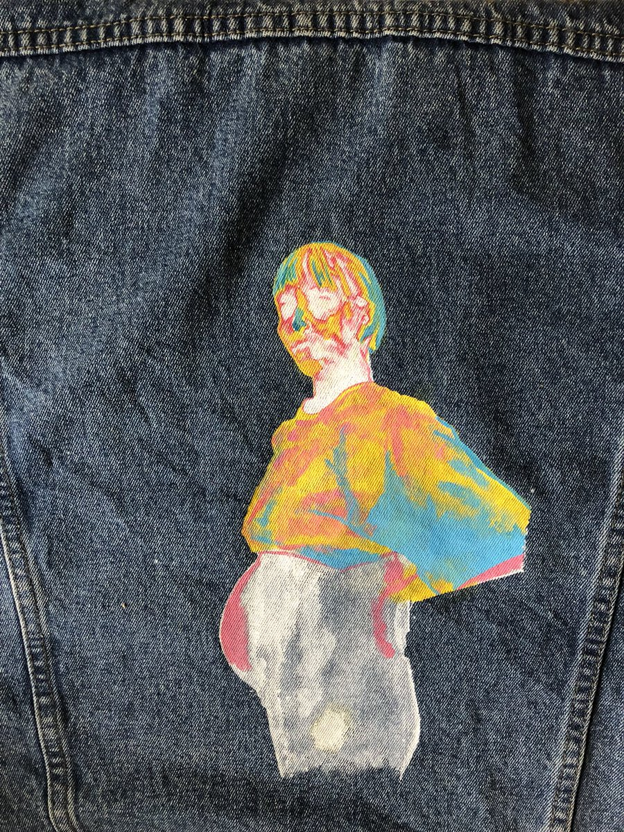 Hand-painted by  Leo  &  Coyote \ shophoneybones.com