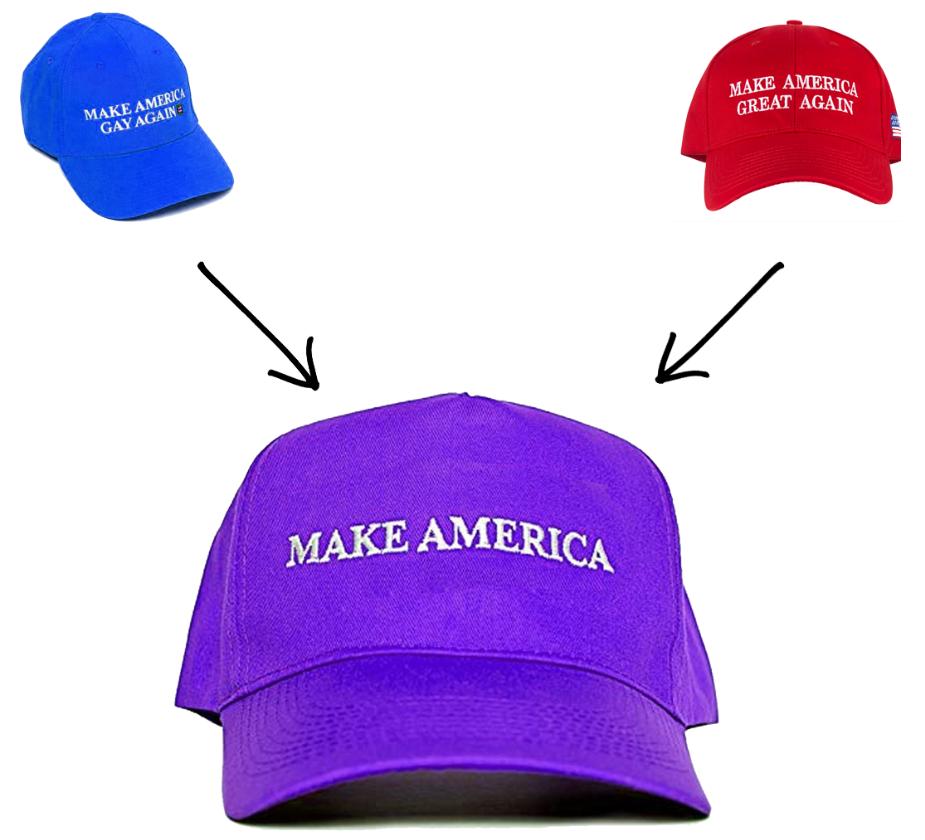 Parasolus 'Make America' Dad Hat