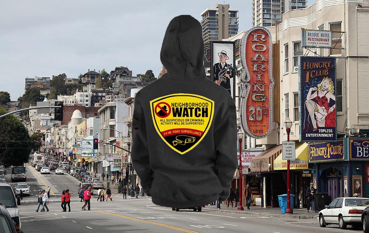 Neighborhood Watch 'Street Sign' Hoodie
