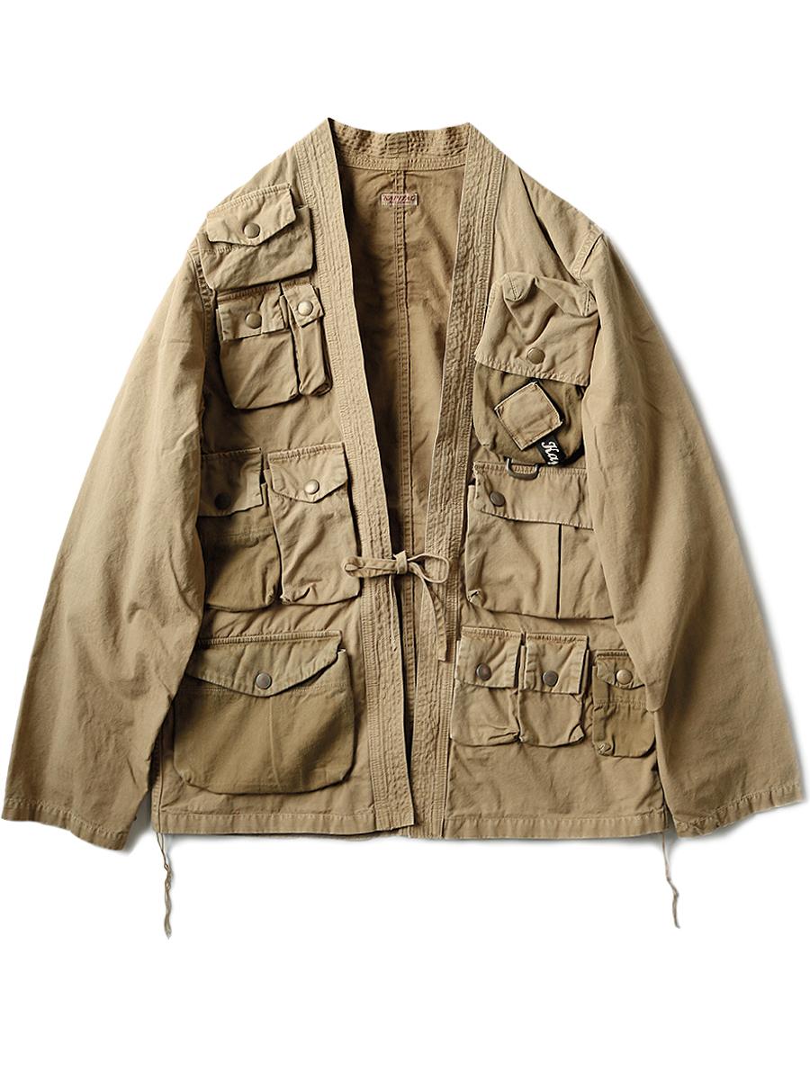 Ripstop fishing KIMONO shirt - Kapital, $391