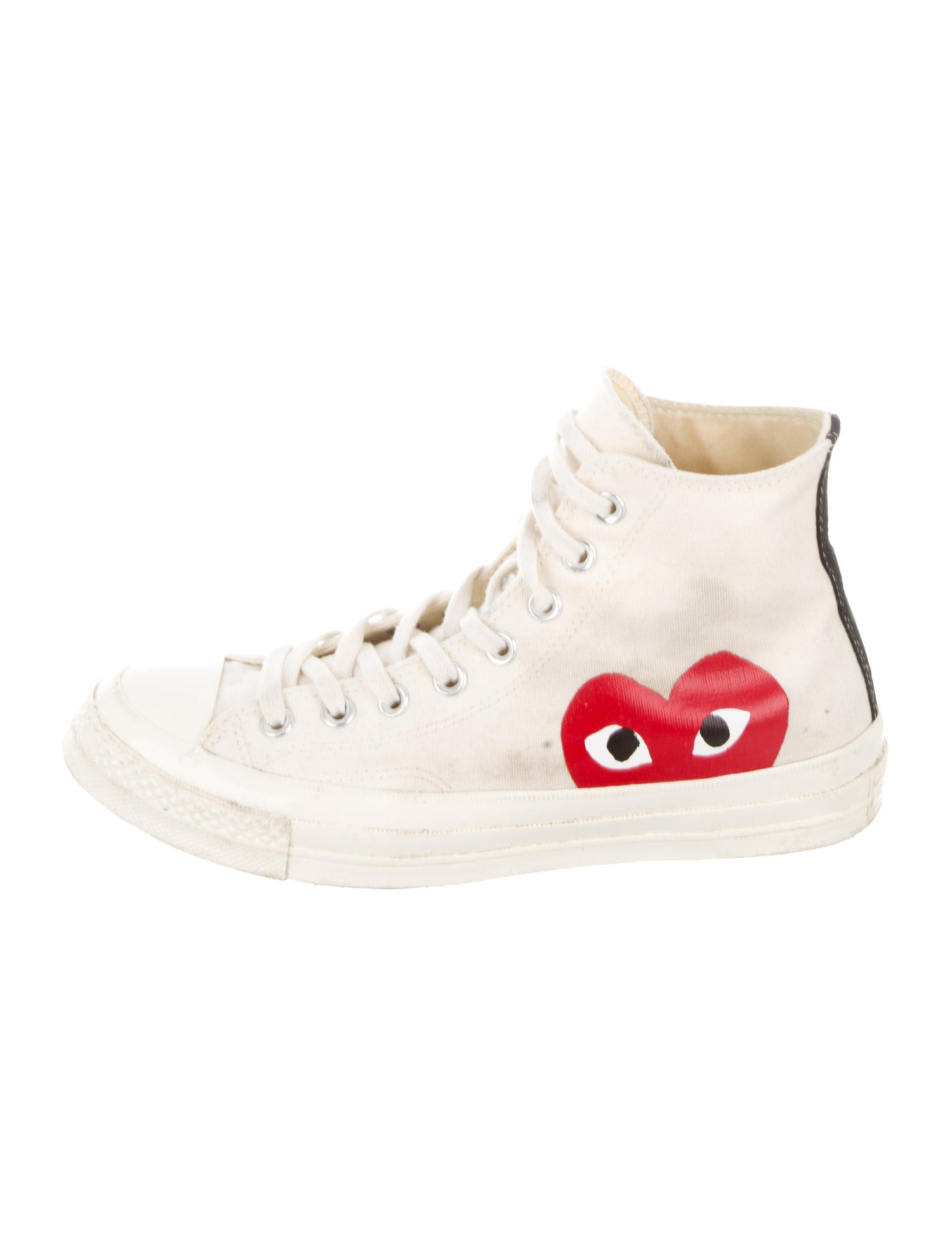 70 Heart Sneakers - Comme Des Garcons Play / Converse, $95