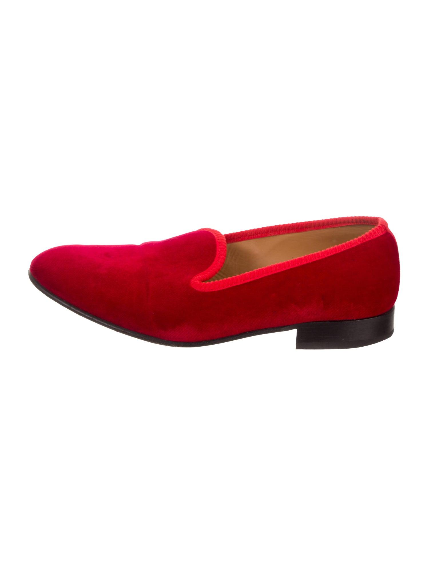 Velvet Smoking Slippers - Del Toro $68