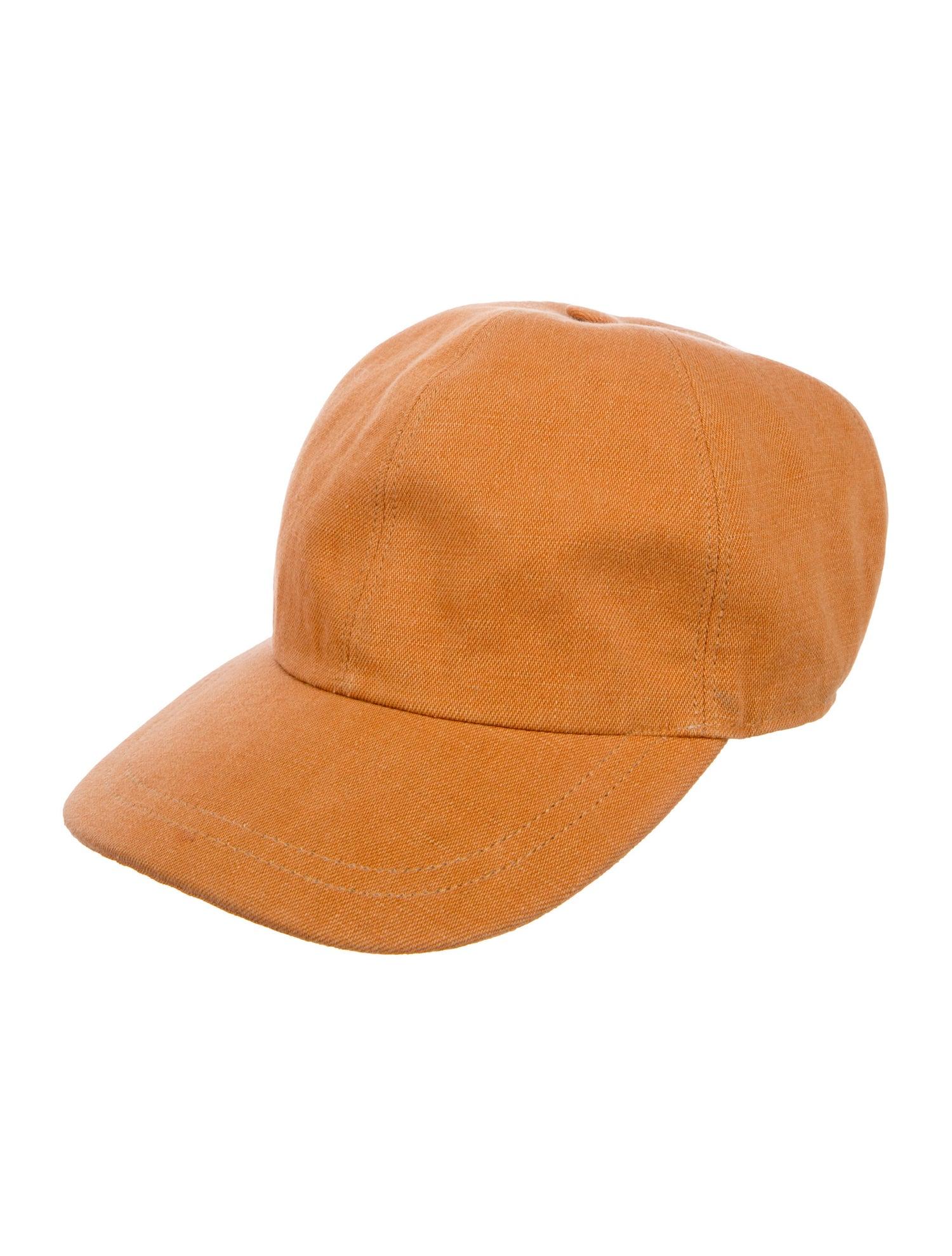 Canvas Baseball Cap - Kiton, $125