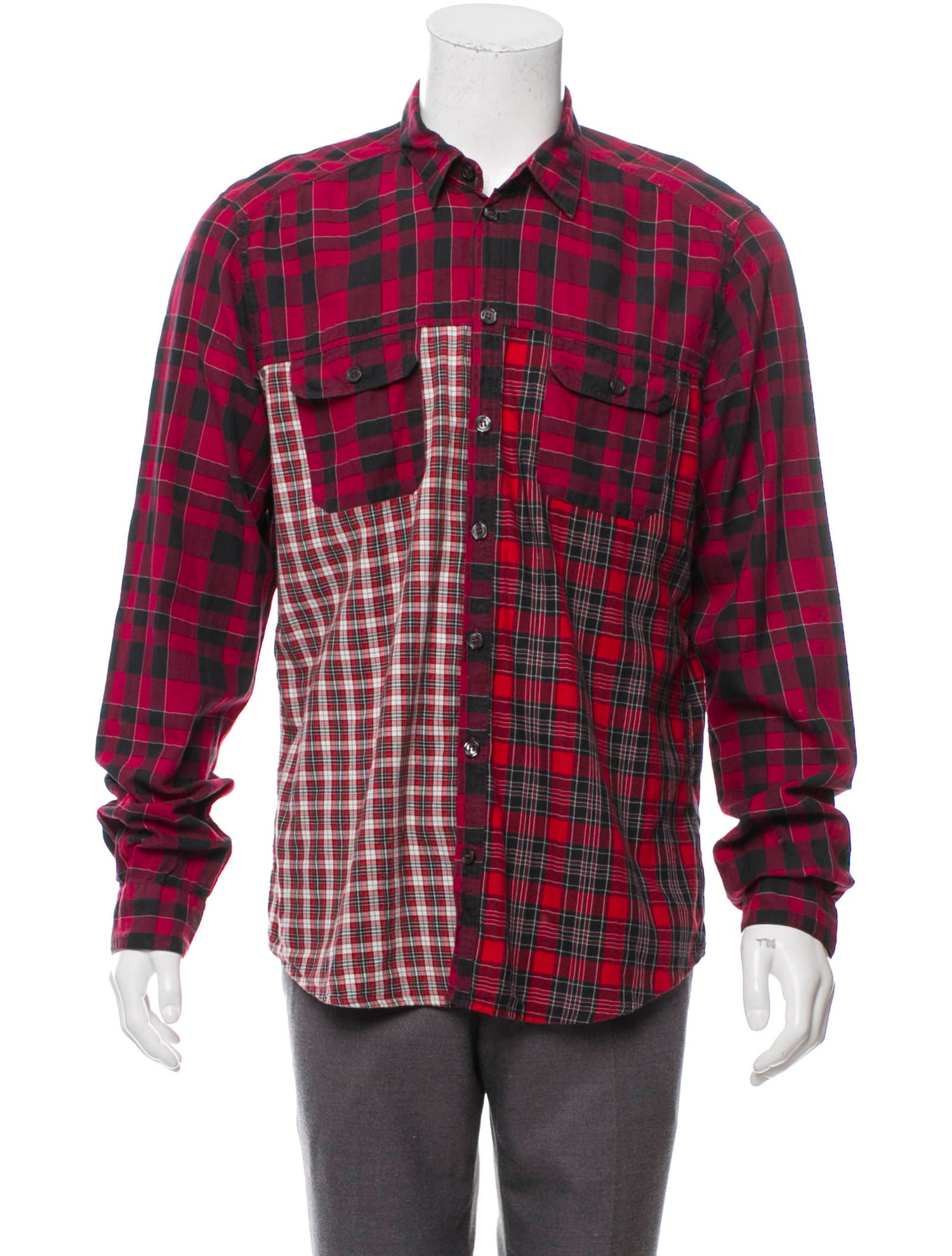 Sicilia Plaid Shirt - Dolce & Gabbana, $140