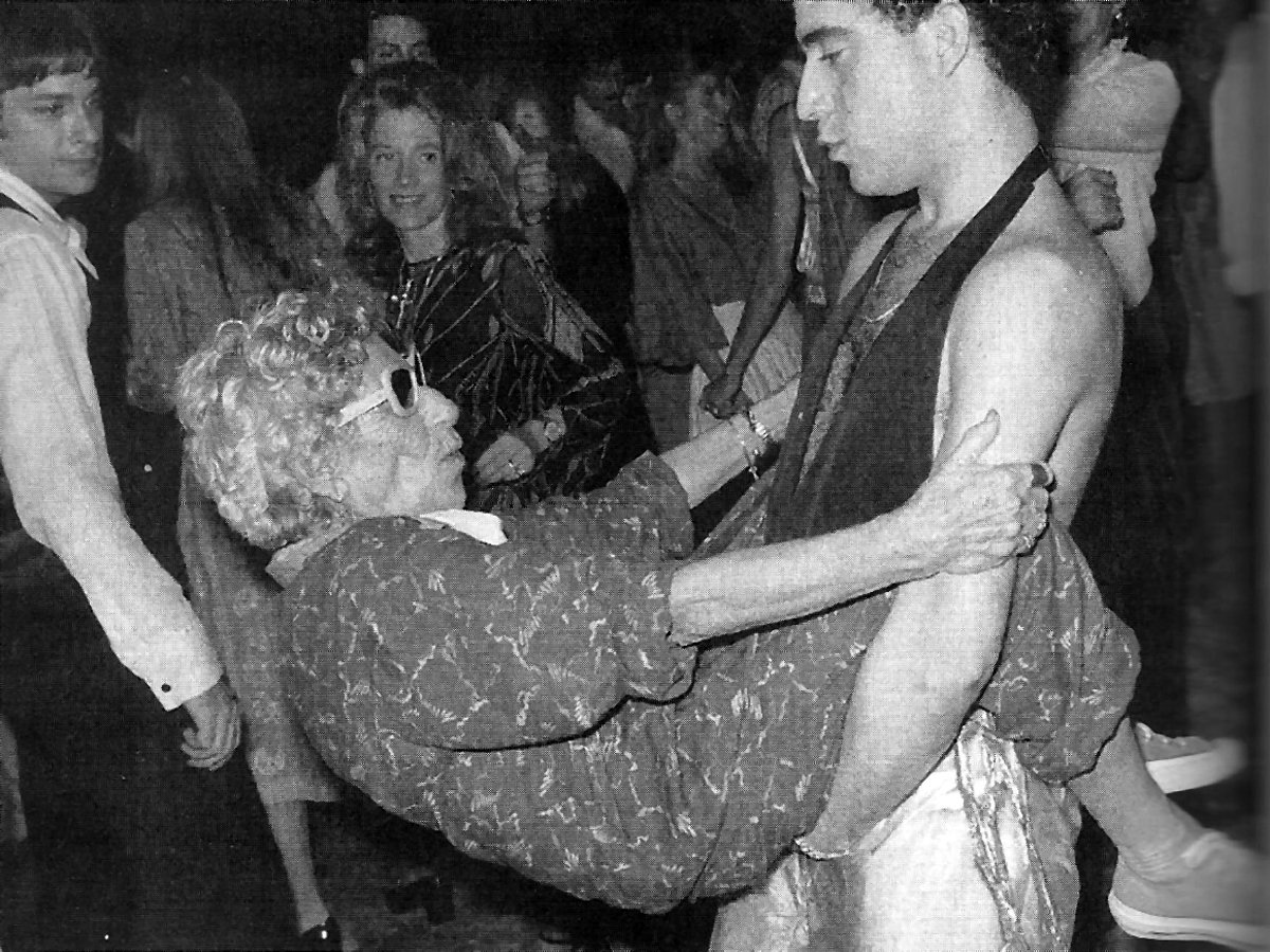 Studio 54 Nightclub Scene