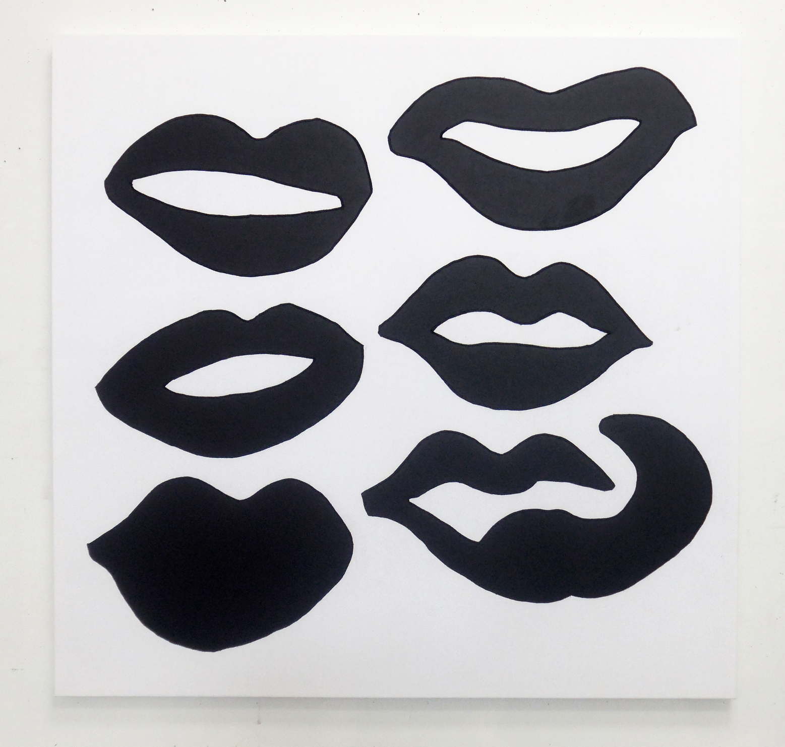 Mouths Drawing 2015