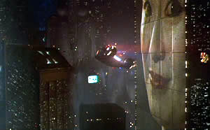 "Warner Bros Pictures   PROTOTYPE: This image of an animated advertisment in the film ""Blade Runner"" inspired Sonny Astani in the design of his condominium project near the 110 Freeway in downtown Los Angeles. Critiques say it could dominate the night sky."