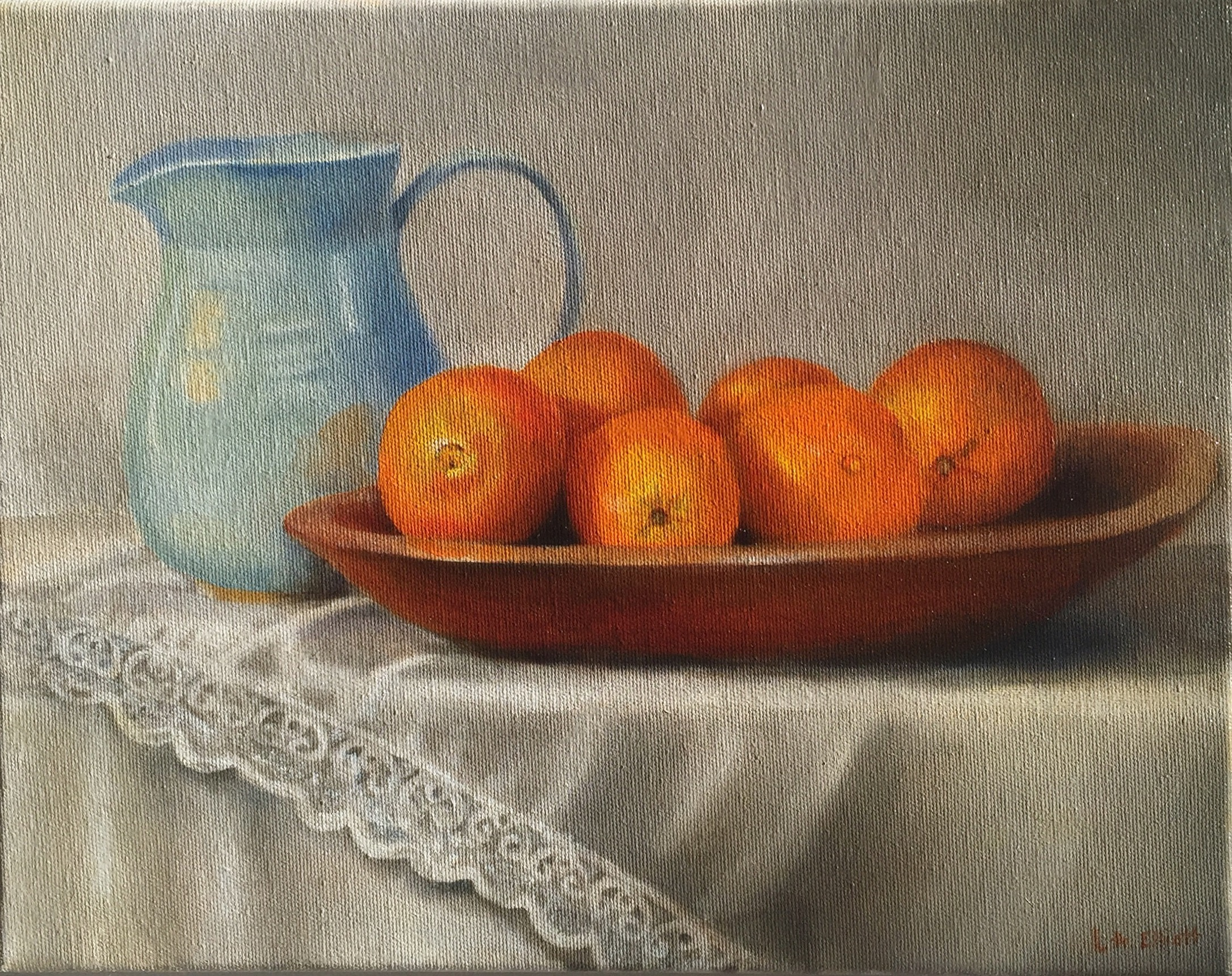 'Oranges' oil on canvas 11x14