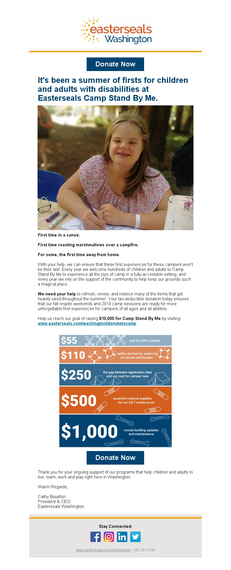 Easterseals Fundraising Campaign