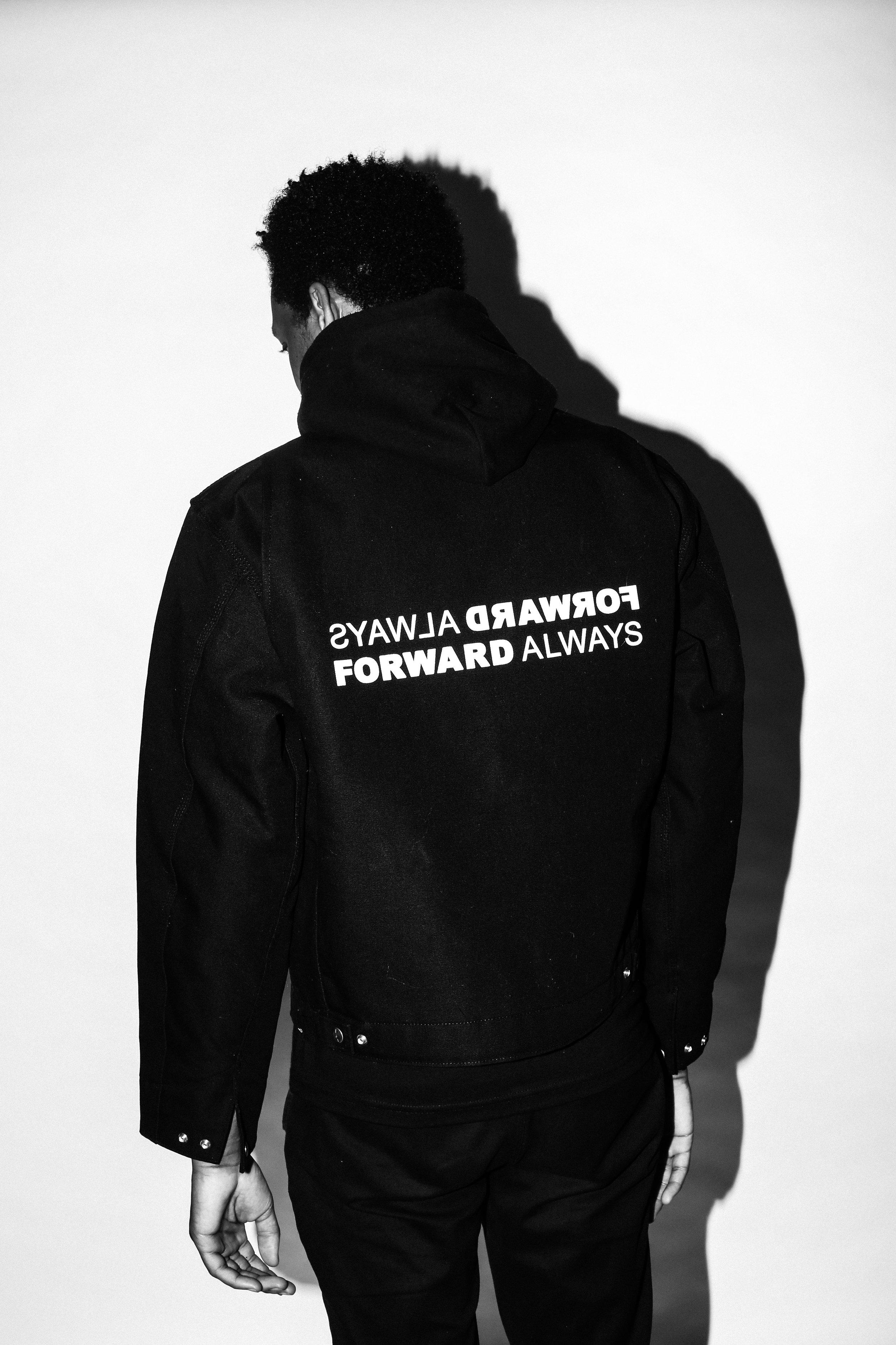 ALWAYS FORWARD FORWARD ALWAYS Carhartt jacket back.jpg