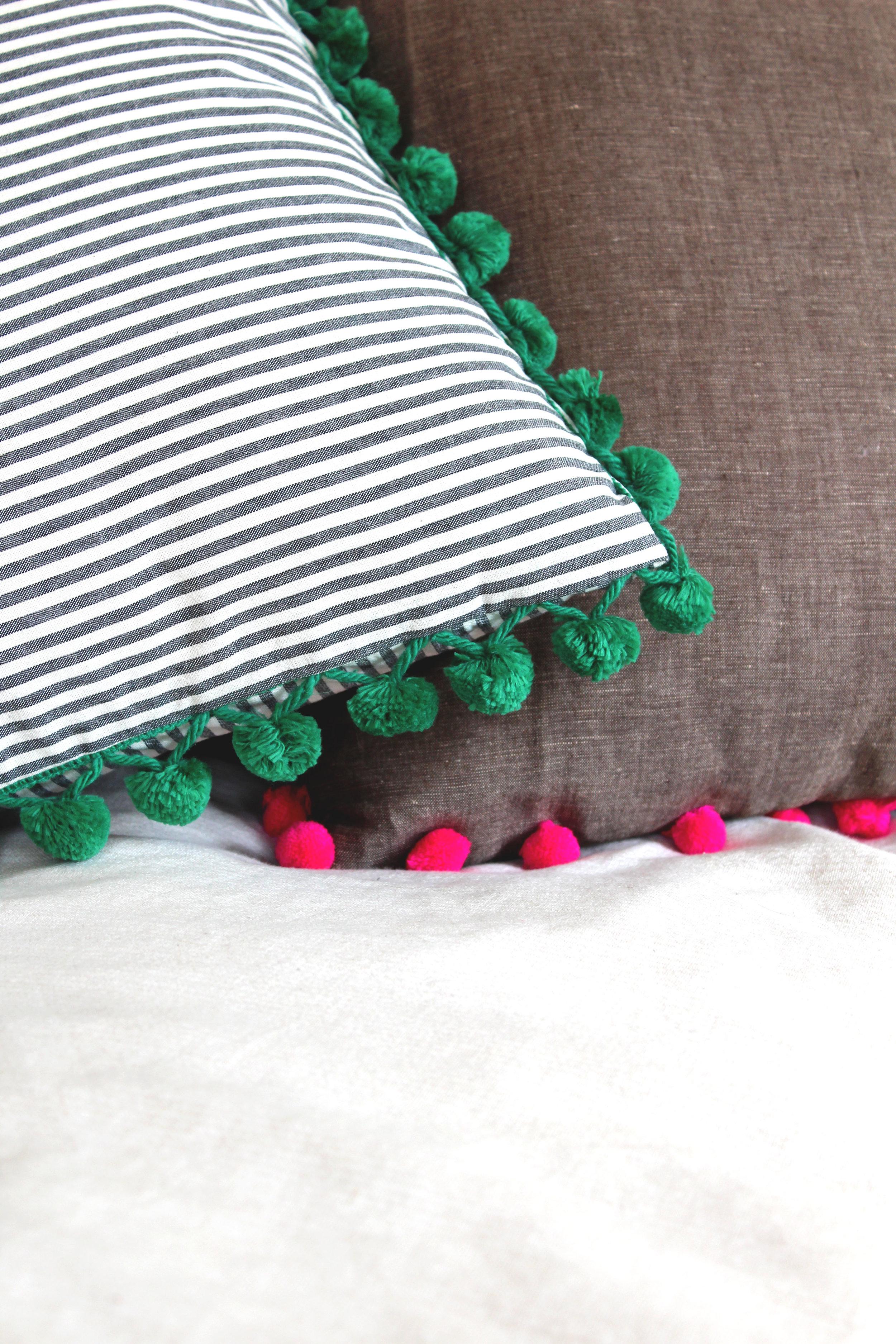 Pom Pom Pillows by Calhoun & Co.