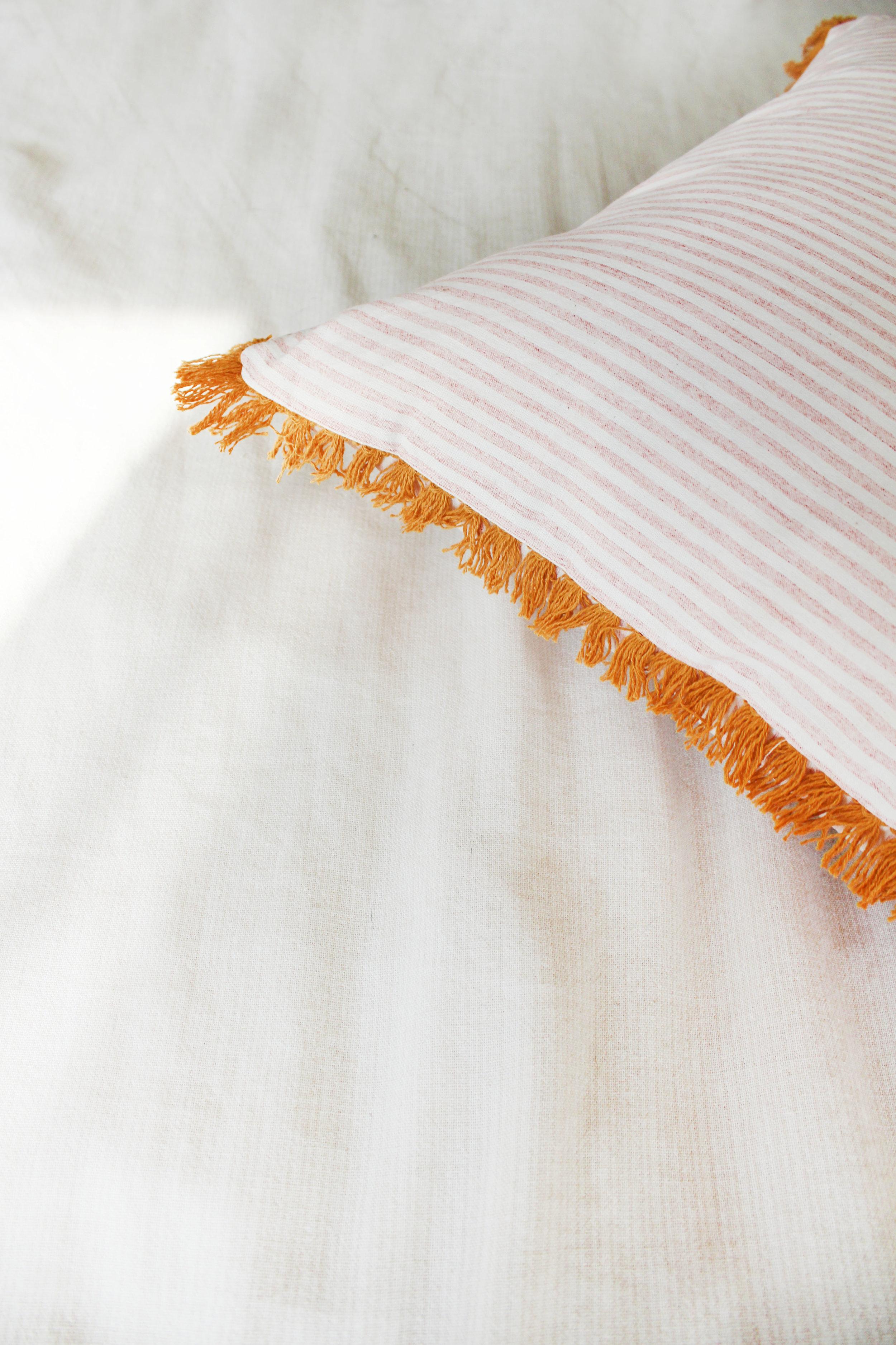 Fringe Pillow by Calhoun & Co.