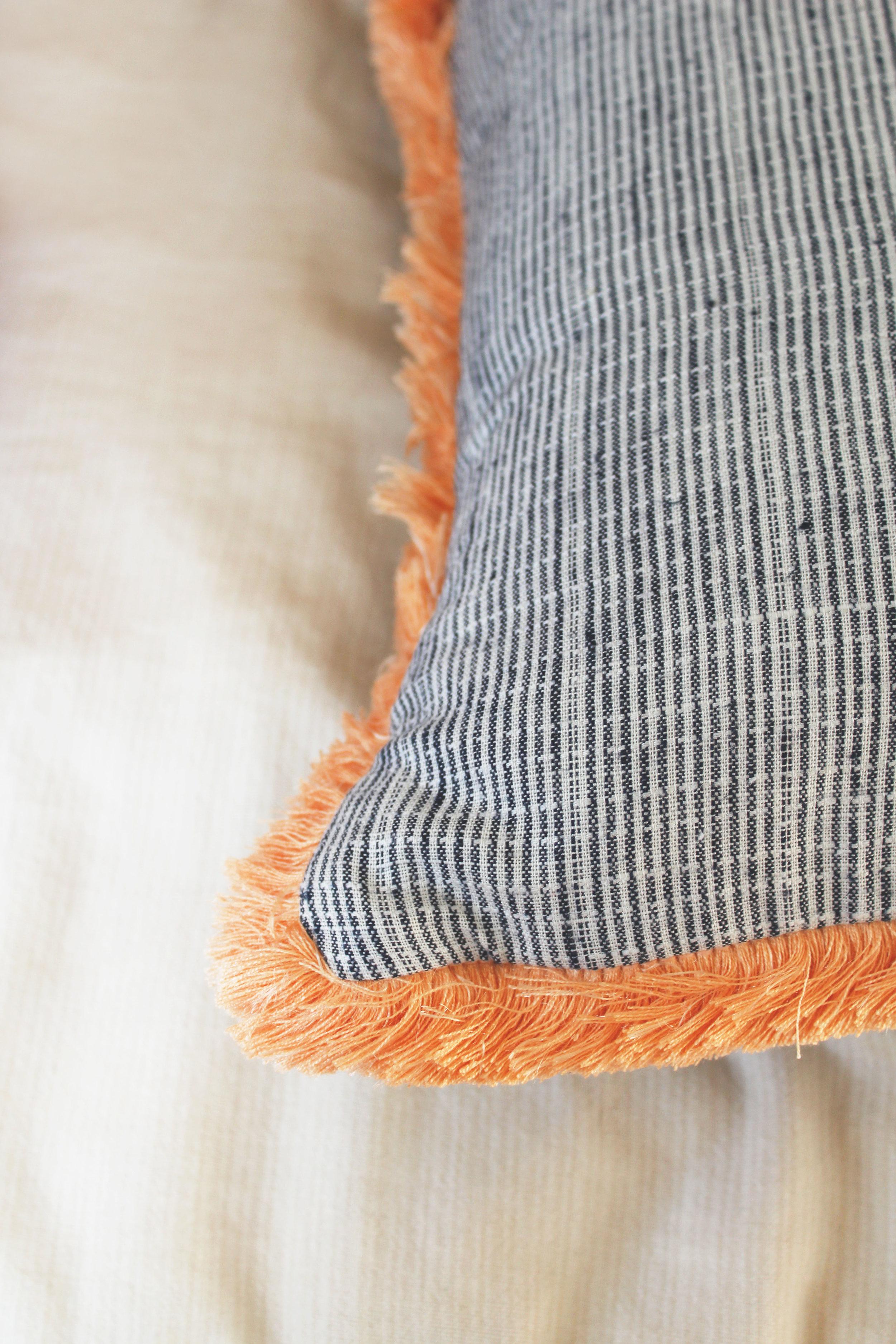 Fringe pillow by Calhoun & Co. Boho Home decor ideas