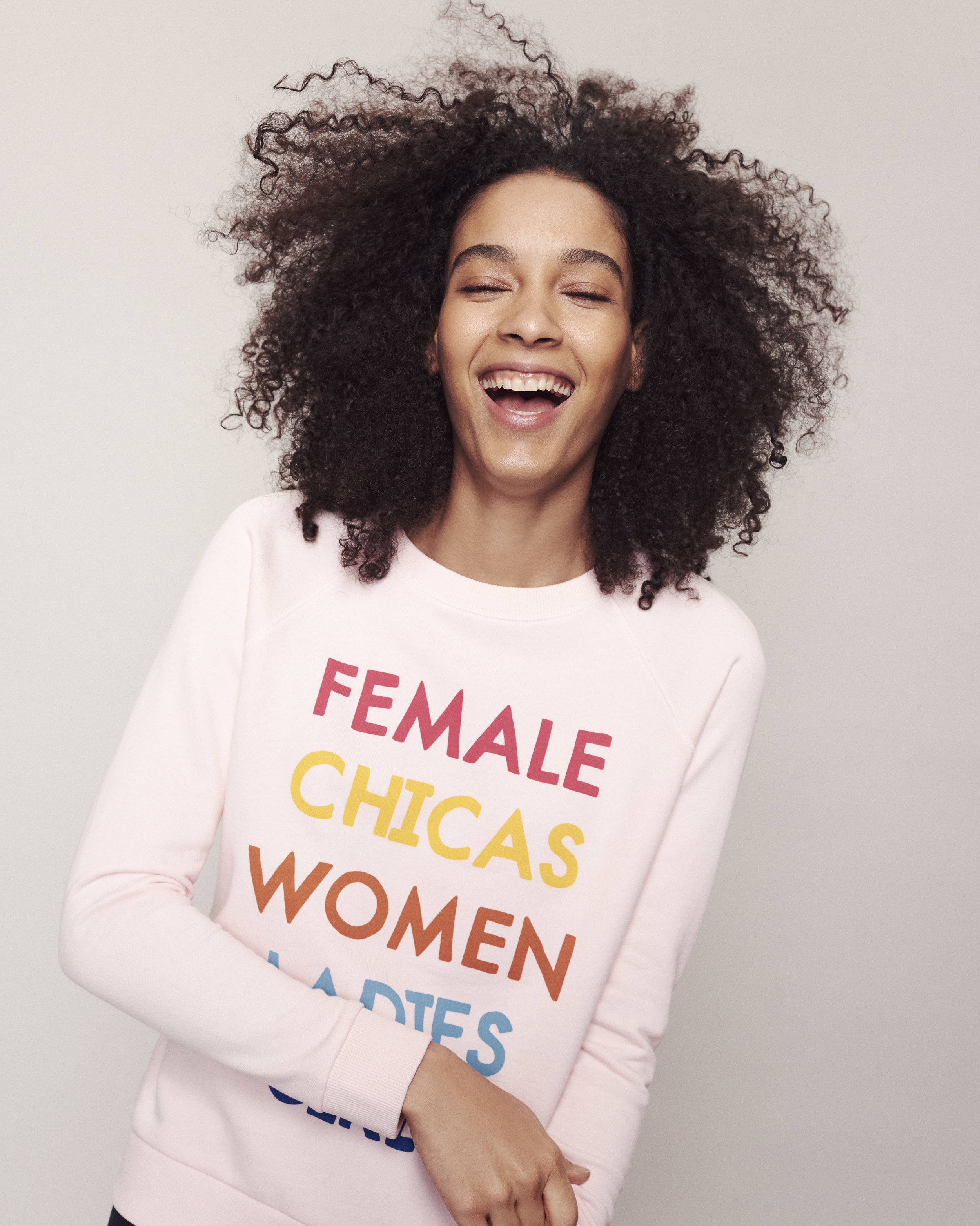 Women's History Month - Calhoun & Co. x Lou & Grey Graphic Sweatshirt Collaboration