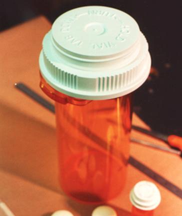 big pill bottle for Kmart commercial
