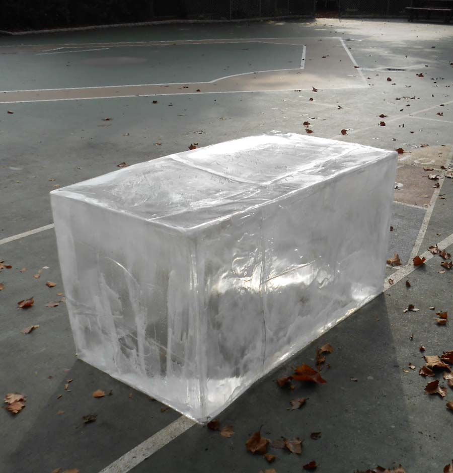 Fake Ice block