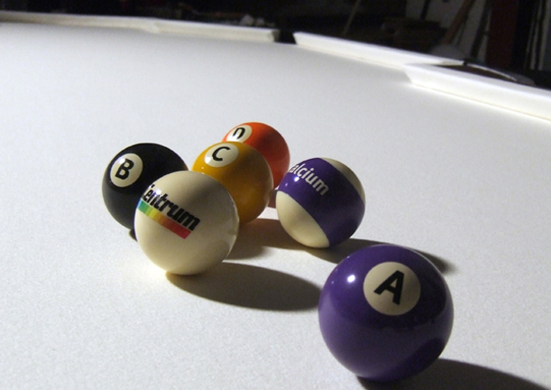 Centrum vitamin pool balls
