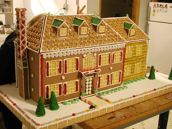 One life to live ... gingerbread house