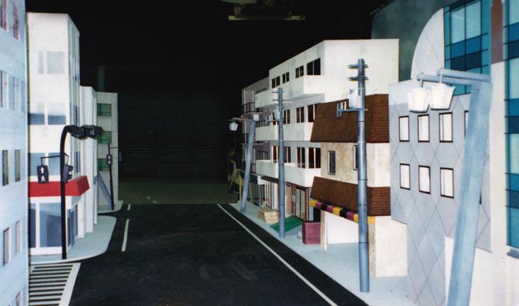 Miniature Tokyo set for Beastie Boys
