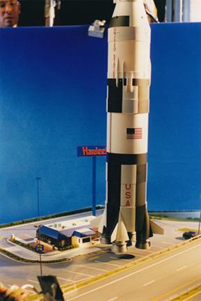 Apollo 13 miniature for Hardees