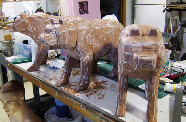 wood bears for SNL