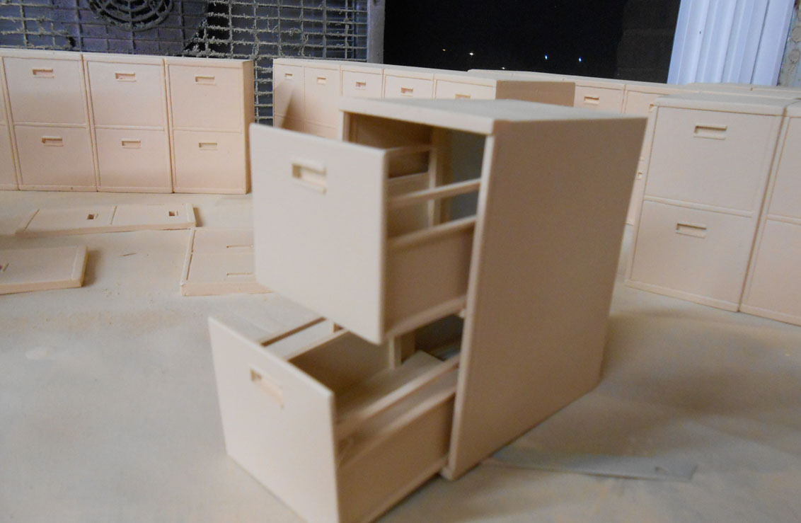 Miniature file cabinets for The daily show .jpg