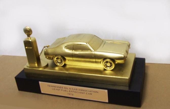 gas guzzler trophy