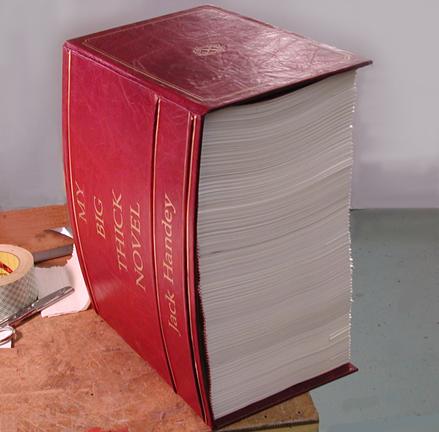giant custom book  for SNL