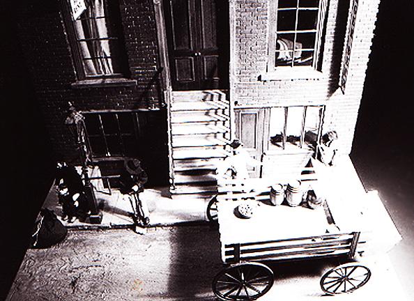 Lower East Side Tenement Museum model