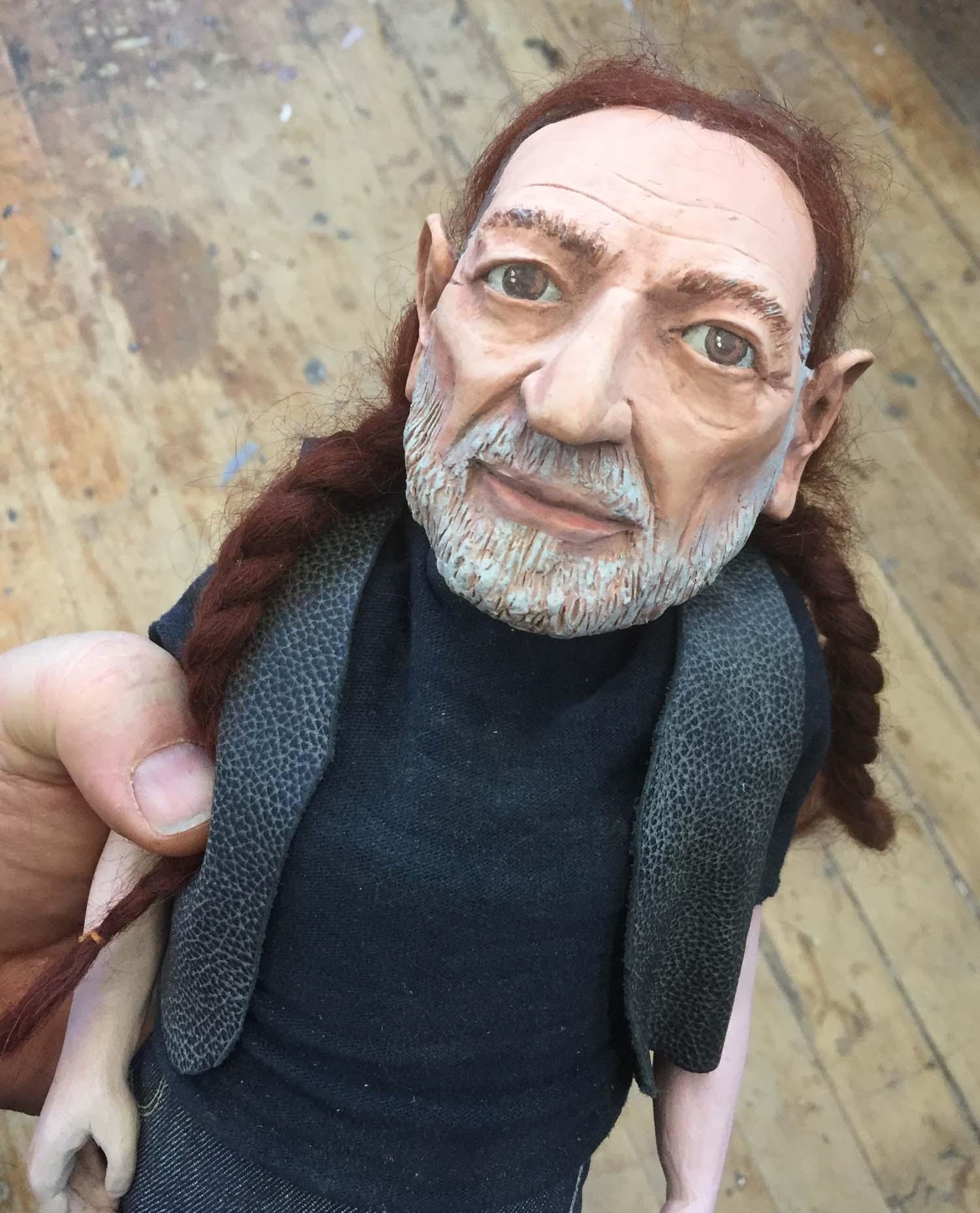 Willie Nelsen Doll