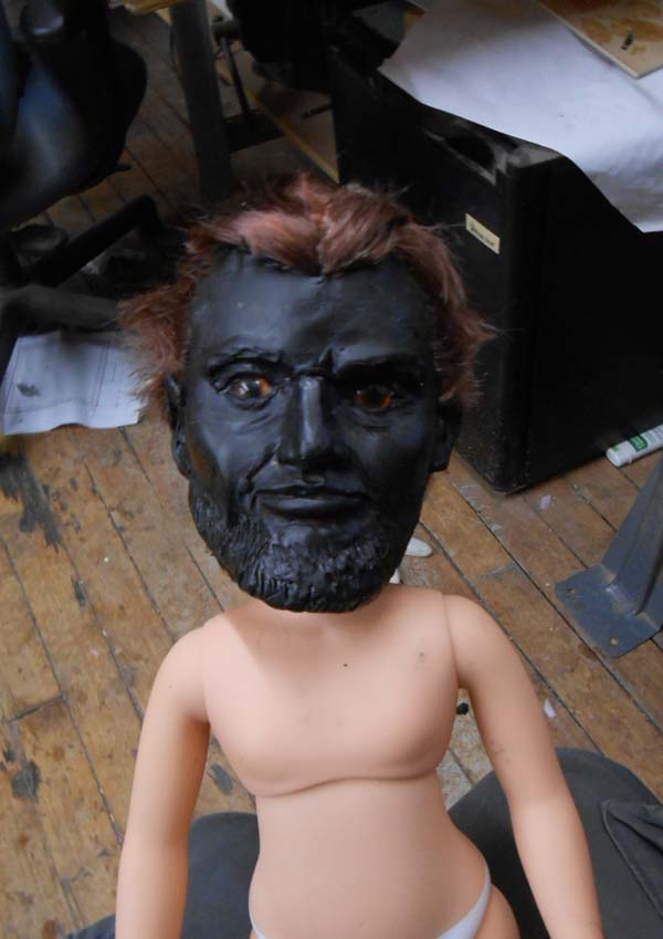 Abraham Lincoln Doll