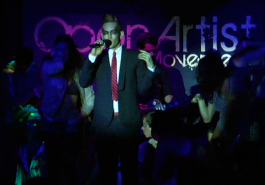 performing Wonderland live at Open Artists With Open Arms. available in february!
