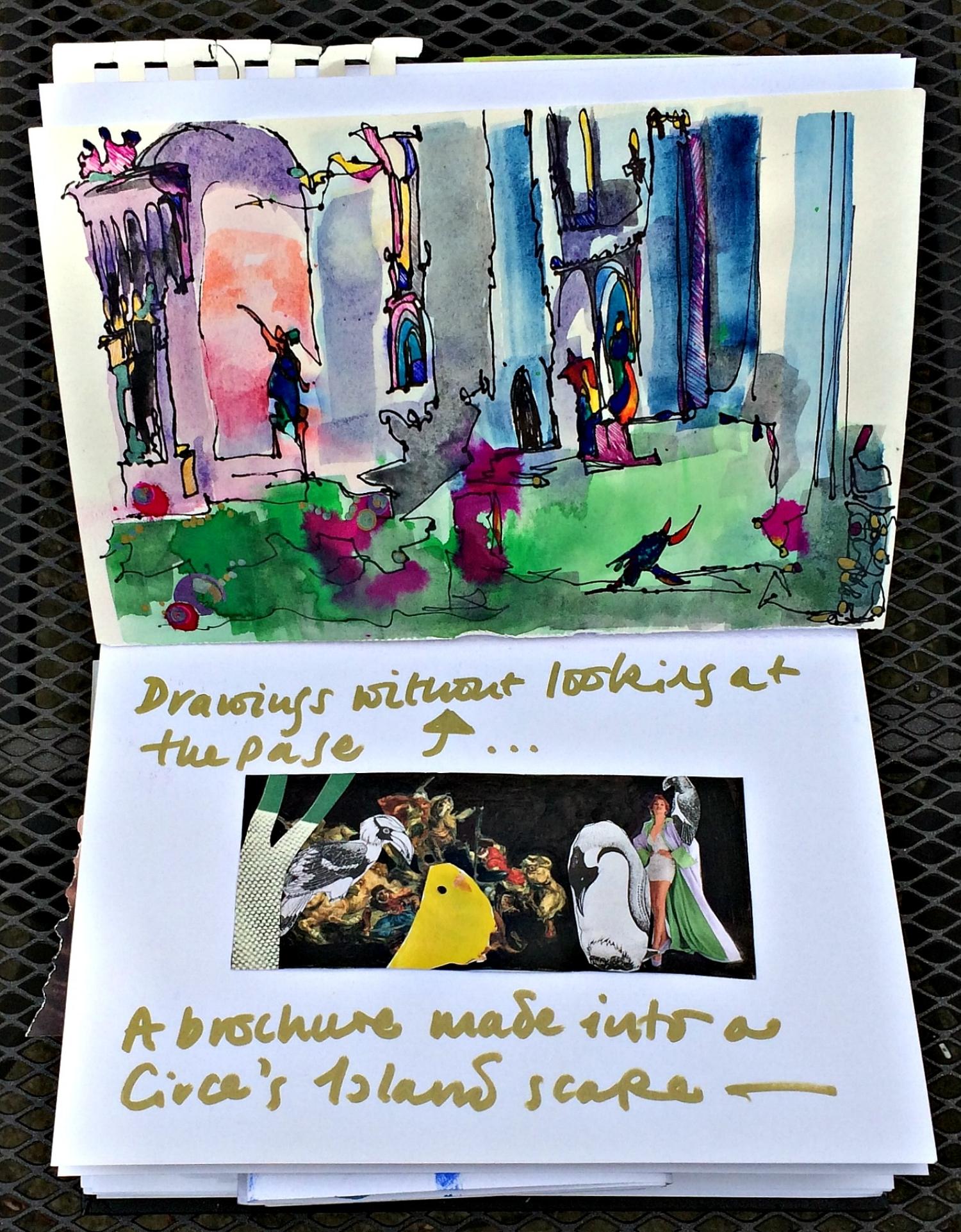 Sketchbook: landscape doodles