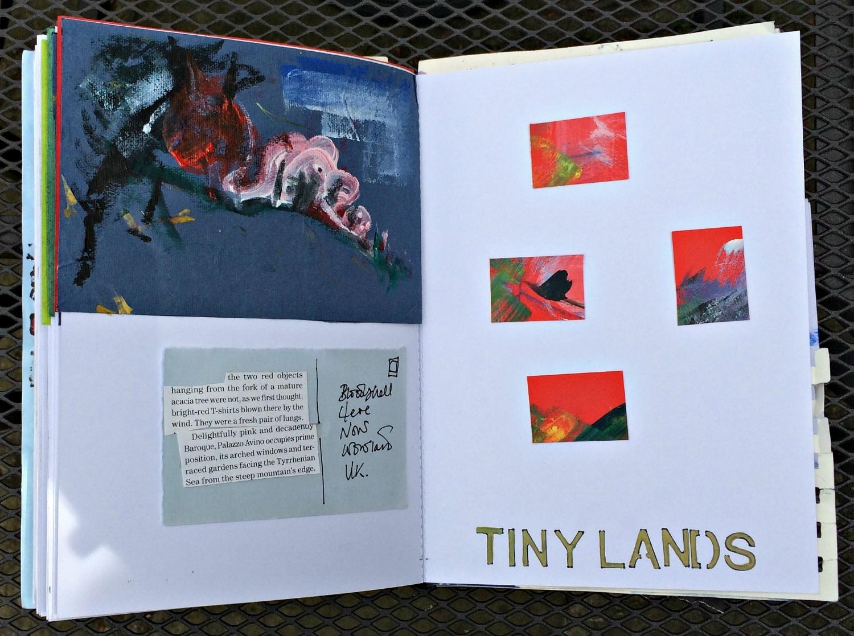 Sketchbook: landscapes abstracted