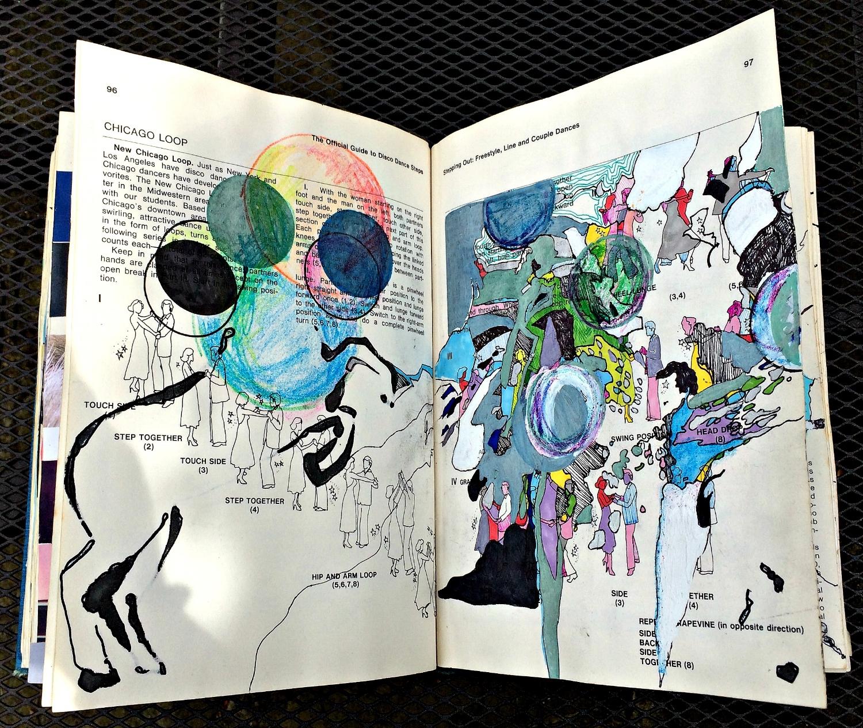 Altered Book (Disco Dance Moves): horse, random colour, etc