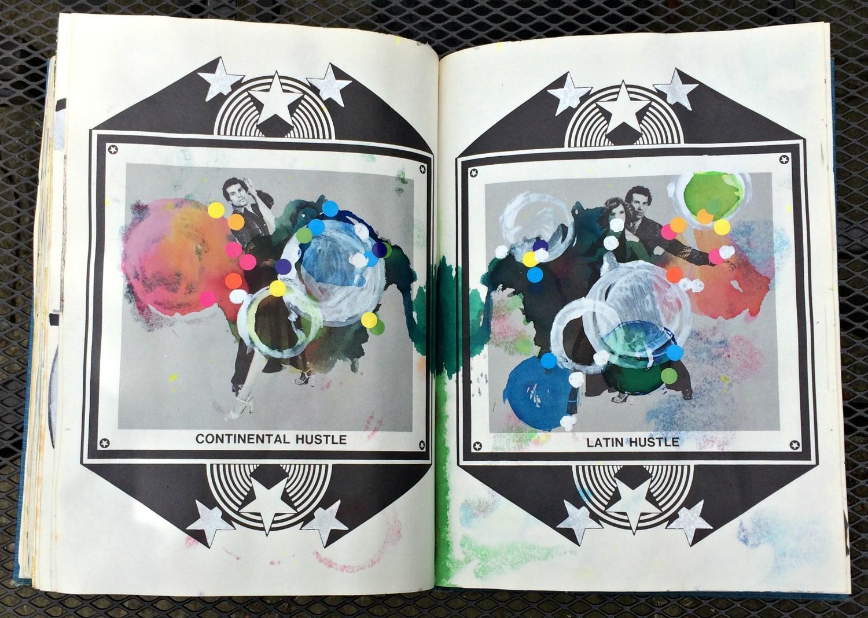 Altered Book (Disco Dance Moves): random circles