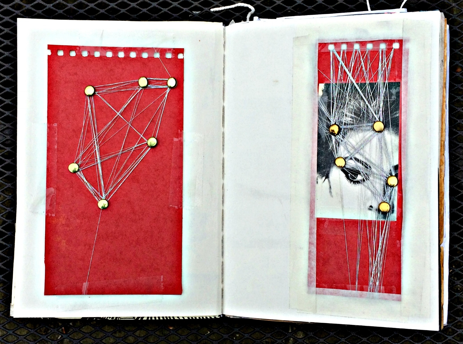 Sketchbook: playing with threads