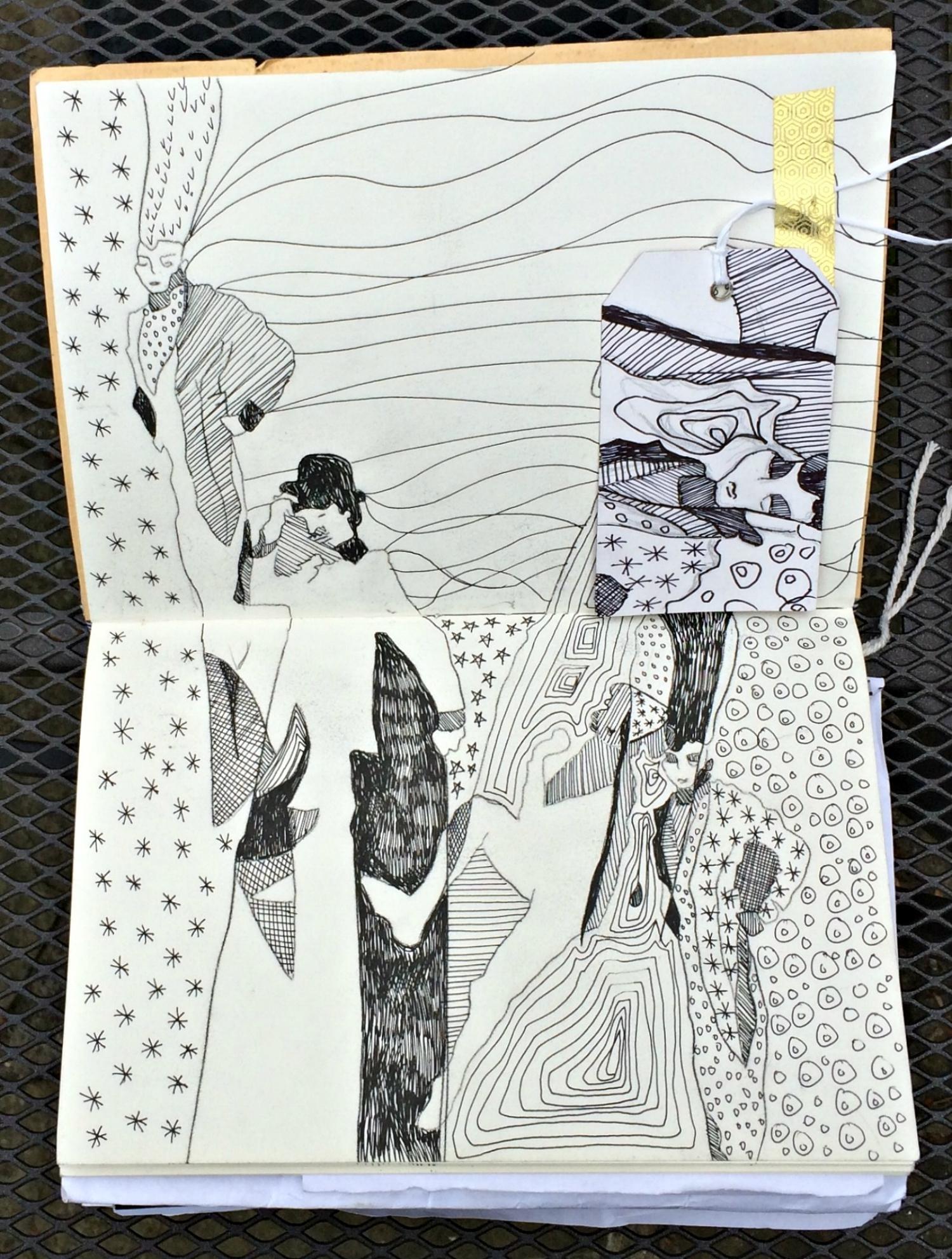Sketchbook: repeats, patterns