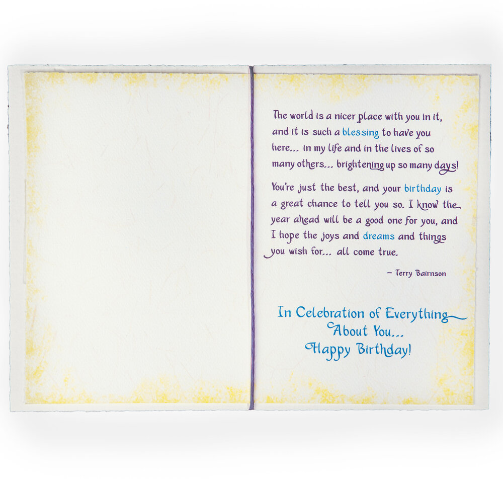Blue Mountain Arts Sculpted HS Paper Collection Luv Daughter,birthday,marriage,