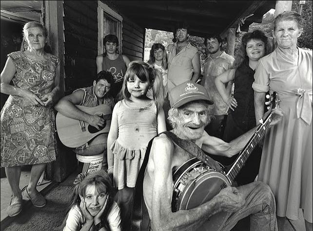 "Shelby Lee Adams ""George's Branch Porch"" 1991"