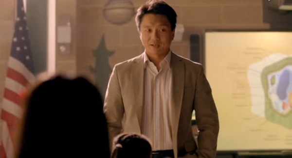 George as Mr. Wu in  McKenna Shoots for the Stars,  2012