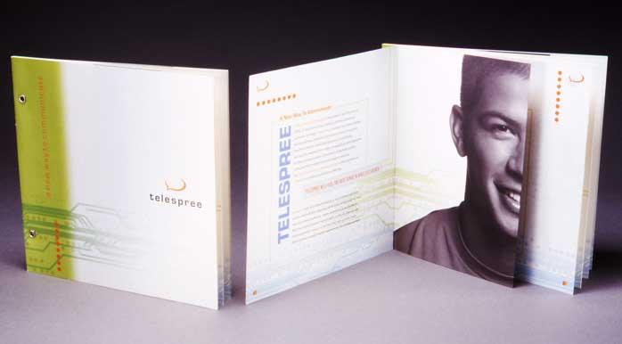 Telespree brochure, 2001