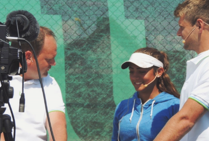 Julita Saner winner of the 2015 Next Generation Cup