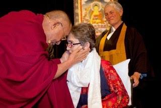 Dalai Lama and Grace Dammann
