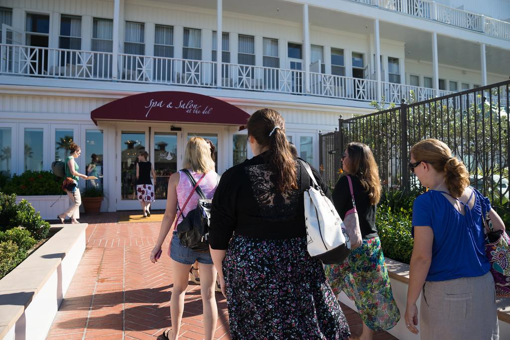 SPA Day at The Hotel del Coronado