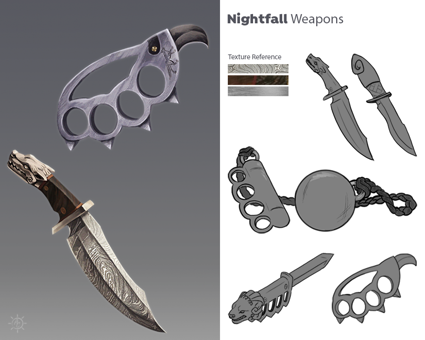 Nightfall: Weapons Concept