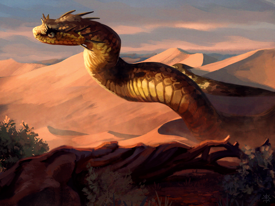 Basilisk Creature Concept